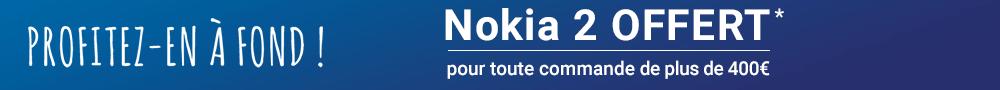 100% gagnant - Nokia 2 offert - 12522
