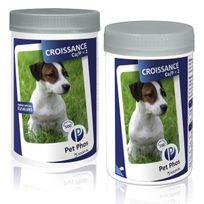 Pet-Phos - Ca/P=2 Compléments alimentaires Croissance pour chiens Boîte de 100 comprimés