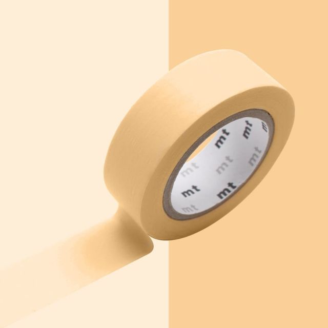 masking tape mt 1 5 cm uni pastel orange mt pas cher. Black Bedroom Furniture Sets. Home Design Ideas