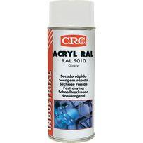 Rc2 Corporation - Peinture acrylique Crc Aérosol - Blanc mat - 520ml/400ml