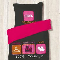 Dourev - Housse de couette 140 sur 200 100% Fashion + 1 taie