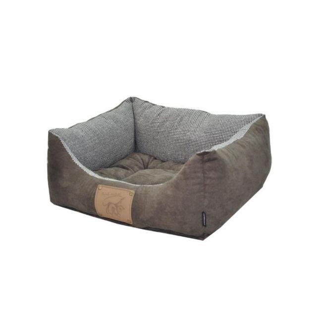 190053faa267 Vadigran - Panier réversible pour chien Laponie brun café 60 x 48cm Marron  - pas cher Achat   Vente Corbeille pour chien - RueDuCommerce