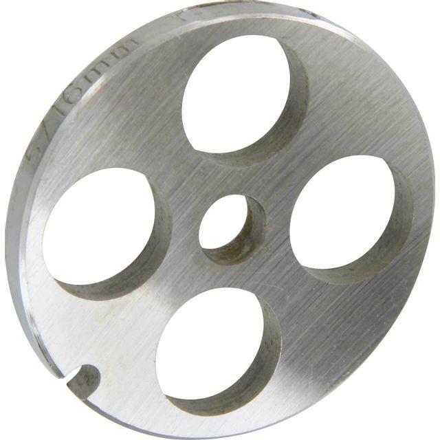 Reber Grille inox Pour hachoir électrique ou manuel n°5 Trou 16mm