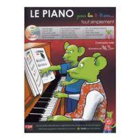Id Music - Méthodes Et Pédagogie Astie C Le Piano Pour Les 5/8 Ans Tout Simplement + Cd - Piano Piano Rentree