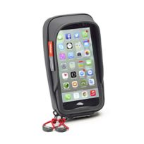 Givi - support universel S957B pour iPhone 7 7+ 6+ galaxy S7 S6 S5 note 3 4 moto scooter vélo fixation universelle
