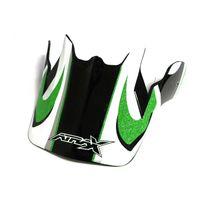 Visière casque moto cross - Vert