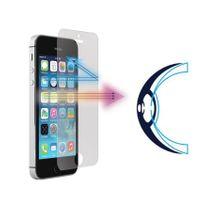 Evetane - Vitre de protection en verre trempé anti lumière bleue pour iPhone 5/5S/5C/SE