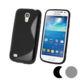 Lapinette - Etui Housse Coque Gel Vague S Pour Samsung Galaxy S4 Mini