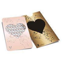 """V Syndicate Grinder Card - Carte grinder """"Gold Coeur"""