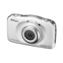 NIKON - appareil photo compact - coolpix w100 blanc