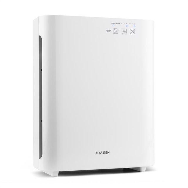 KLARSTEIN Vita Pure 2G Purificateur d'air ioniseur filtre 5x55W UV-C Touch blanc
