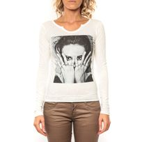 Sweet Company - Tee shirt I Love Lfm Blanc - 1 acheté = 1 offert
