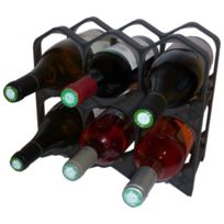 Drinkcase - Casiers à bouteilles couleur Noir Lumineux, Design et empilables à l'unité