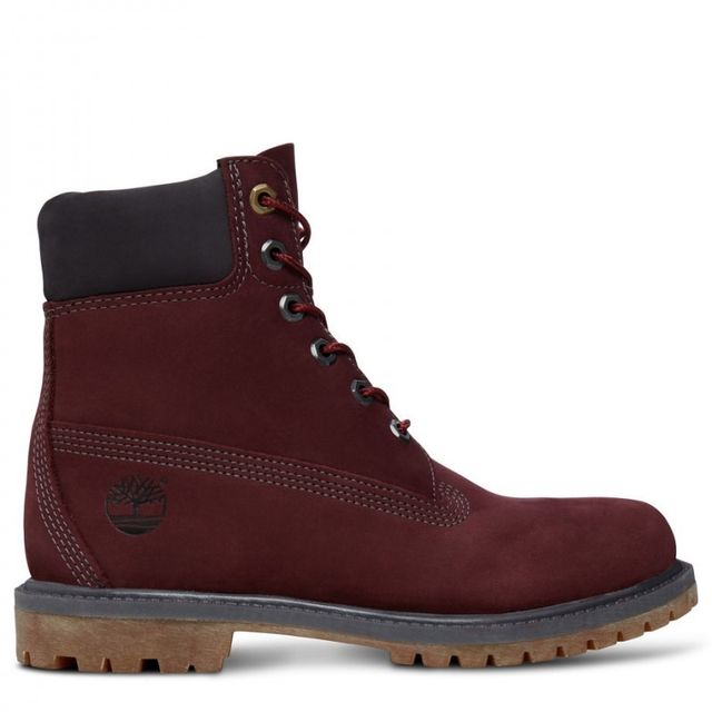 81c14d9ad85 Timberland - icon 6-inch premium boot femme - pas cher Achat   Vente Boots  femme - RueDuCommerce