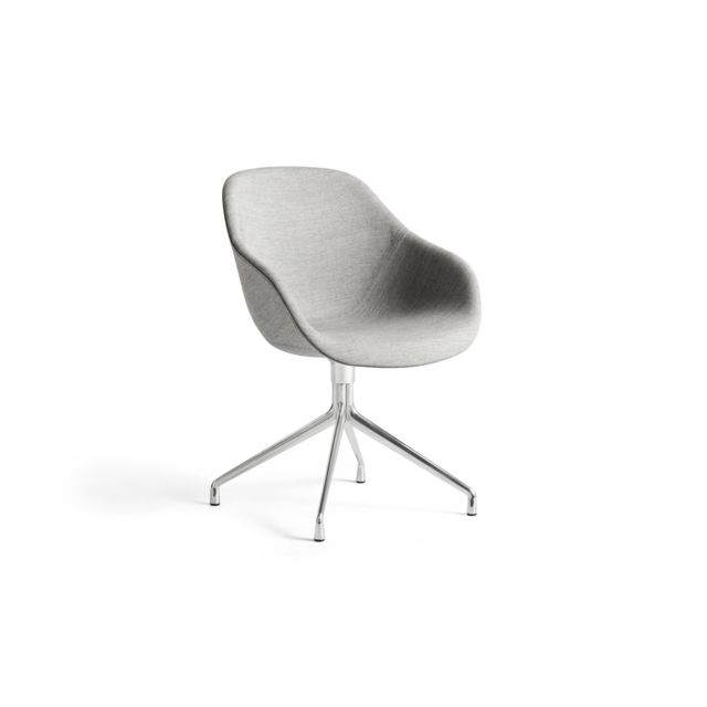 Hay About A Chair Aac 121 - aluminium poli - Remix 113 - beige