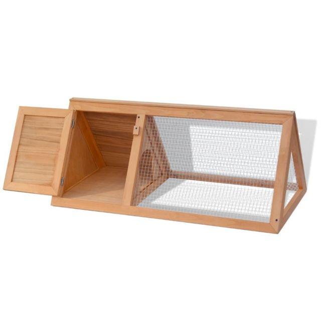 Vidaxl Cage pour animaux Bois - 170345 | Brun