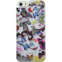 Christianlacroix - Coque Butterfly Parade de Christian Lacroix couleur Opaline pour iPhone 5/5S