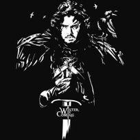 Gildan - T-shirt John Snow - Game Of Thrones