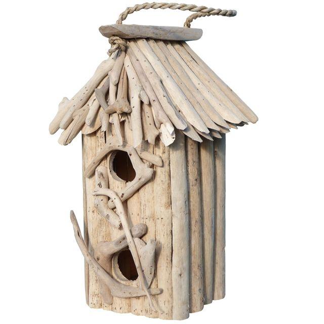 T te de lit en bois flott 180 river vendu par - Nichoir oiseau bois ...