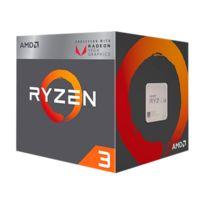 AMD - Ryzen 3 2200G - Wraith Stealth cooler + RX vega Graphics intégré