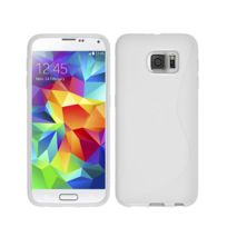 Lapinette - Coque Gel Vague S Pour Samsung Galaxy S6 Edge Plus - Blanc