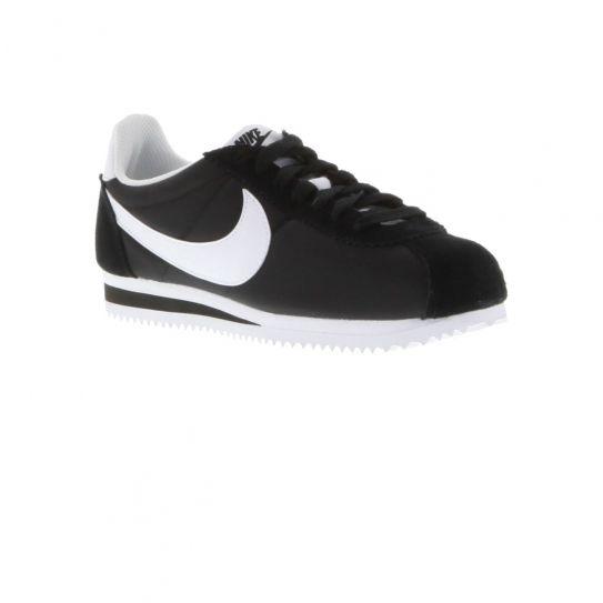 Nike Chaussures Classic Cortez Nylon BlackWhite W h16