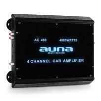 AUNA - Ampli pour voiture 4 canaux 360w RMS