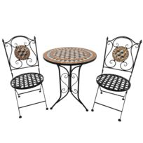 Table jardin mosaique ronde - catalogue 2019 - [RueDuCommerce ...