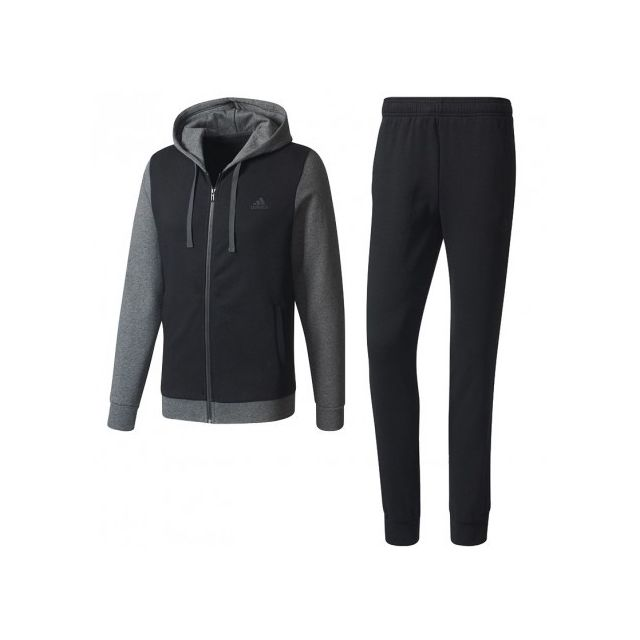 421e331382b5d Adidas originals - Survêtement Coton Entrainement Noir Homme Adidas ...