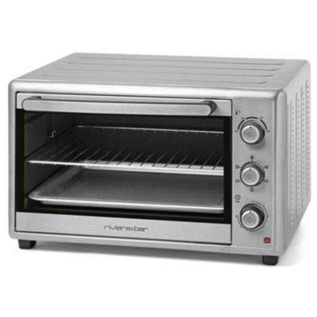 RIVIERA & BAR four grill chaleur tournante 46l 1800w inox - qo460a