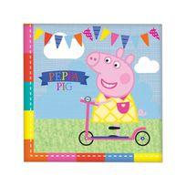 Bbs - Serviettes Peppa pig x16