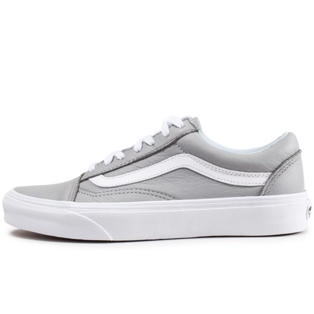 Vans Old Blanche Et Skool Leather Grise Pas Cher 41 Achat 8wO0nkXPNZ