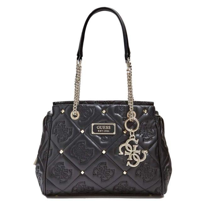 Guess Shanina girlfriend satchel femme hwvg7432090 pas