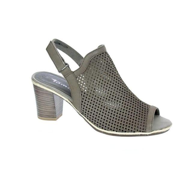 ed7a2edd353f29 Tamaris - Chaussures Femme Sandales modele 28335 28 324 - pas cher Achat / Vente  Sandales et tongs femme - RueDuCommerce