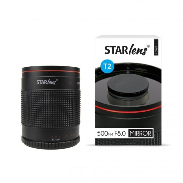 Starblitz StarLens Objectif catadioptrique 500mm F8 avec bague Canon