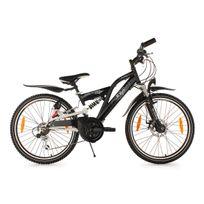 KS CYCLING - Vélo junior 24'' B-Boy noir TC 36 cm