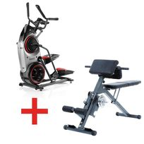 Bowflex - Pack Stepper Elliptique Max trainer M5 + Ab & Back Trainer