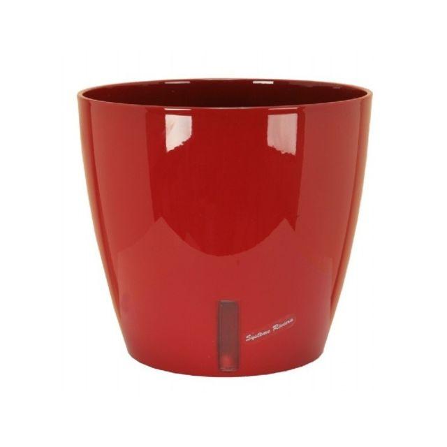 Riviera & Bar Pot Eva rond diametre 26cm rouge- Riviera