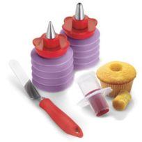 Cuisipro - Set de 4 Pièces de Décoration pour Pâtisserie