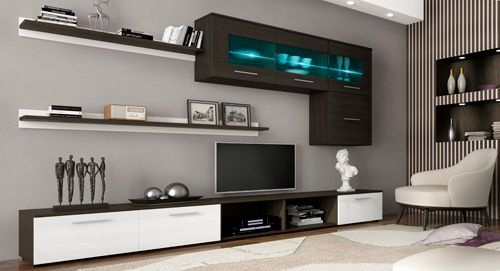 Comfort home innovation ensemble tv meuble tv led contemporain ensemble salon s jour for Ensemble meuble salon sejour