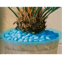 Provence Outillage - Pierre lumineuse bleue 100 pièces