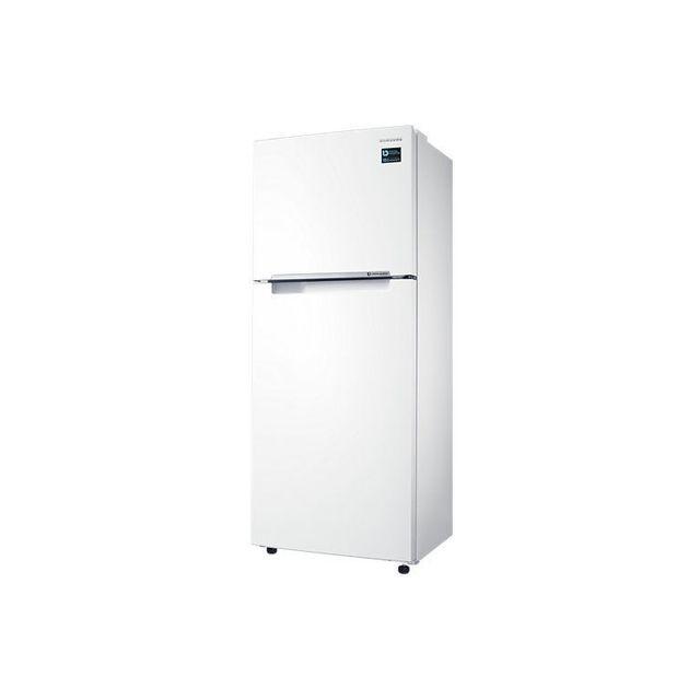 Samsung Réfrigérateur congélateur 2 portes RT29K5030WW Réfrigérateur avec congélateur -Forme :Armoire(hauteur supérieure à 85 cm) -2 portes(congélateur en haut) -Pose :Lib