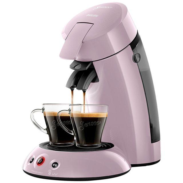 PHILIPS Machine à café à dosettes Senseo Original HD6554/31