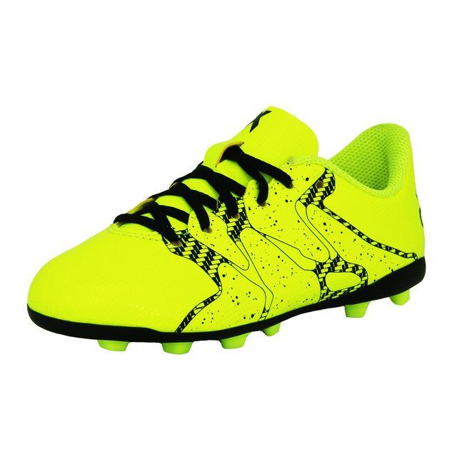 outlet store c31db cc322 Adidas performance - X 15 4 Fxg J Chaussures de Football Junior Enfant Jaune