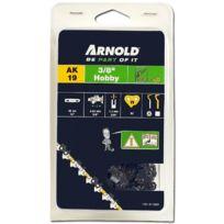"""Arnold - Chaîne 3/8"""" Lp, 1,3mm, 62 Entr avec element de securité, demi rond - 1191-X1-0020"""