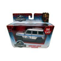 Jada - Toys - 24038_01 - VÉHICULE Miniature - ModÈLE À L'ÉCHELLE - Mercedes-benz G Klass - Jurassic World 2015 - Echelle 1/43.32