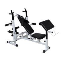 Autre - Banc de musculation universel avec support pour haltère sport fitness musculation 0702057