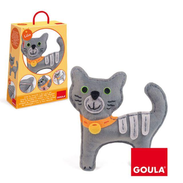 Goula Kit de couture : Couds ton chat Lilo
