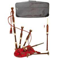 Celtique Instruments - Pack Cornemuse écossaise avec Housse et Practice chanter