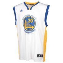 Adidas - Maillot de basket Stephen curry warriors £ Blanc 35012